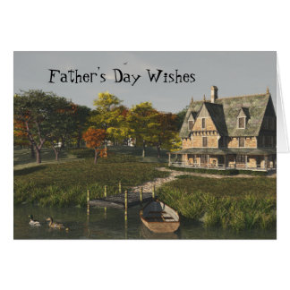 Autumn at the Lake Father's Day Card
