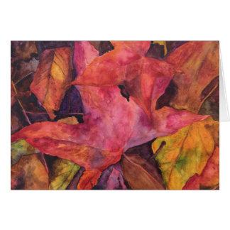 Autumn Beauty Card