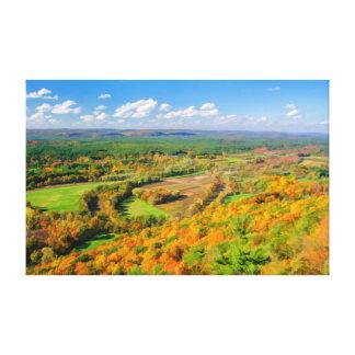Autumn Beauty, Simsbury, CT Canvas Print