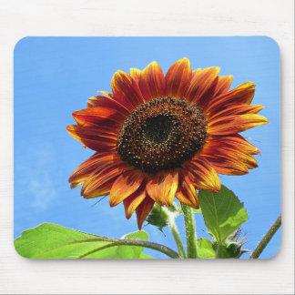 Autumn Beauty Sunflower Mouse Pad