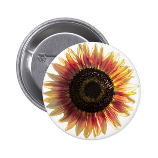 Autumn Beauty Sunflower Pin