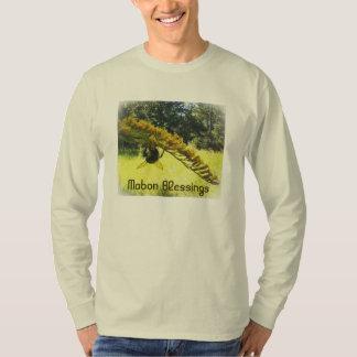 Autumn Bee Goldenrod Botanical T-Shirt