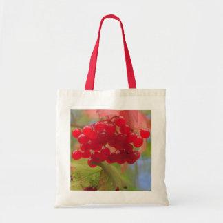Autumn Berries Canvas Bag