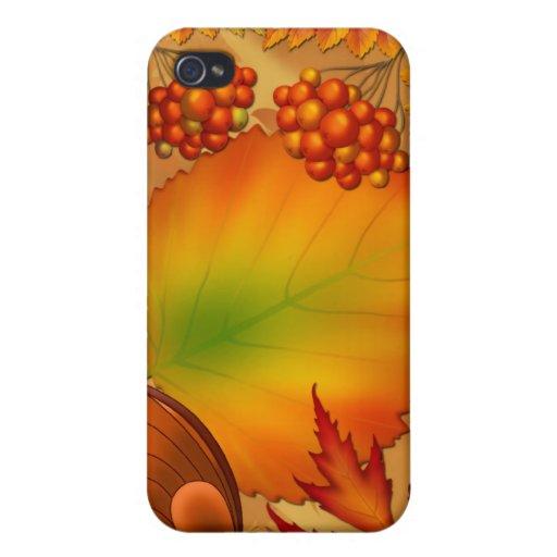 Autumn Berries iPhone 4/4S Cases
