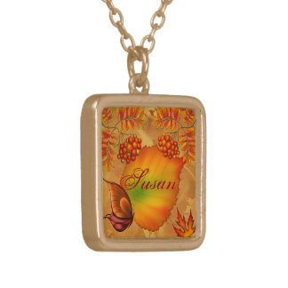 Autumn Berries Necklace