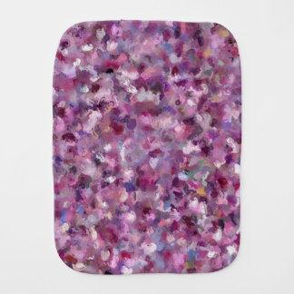 Autumn Berries Paint Splashes 9887 Burp Cloth