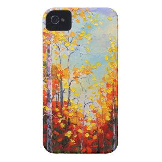 Autumn birches Case-Mate iPhone 4 cases