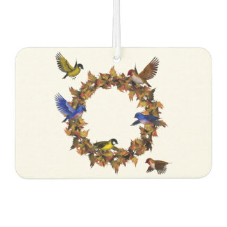 Autumn Birds Car Air Freshener