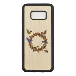 Autumn Birds Carved Samsung Galaxy S8 Case