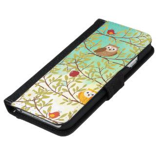 Autumn birds iPhone 6 wallet case