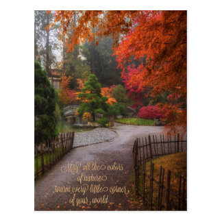 Autumn Birthday Postcard