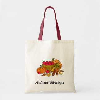 Autumn Blessings Budget Tote Bag