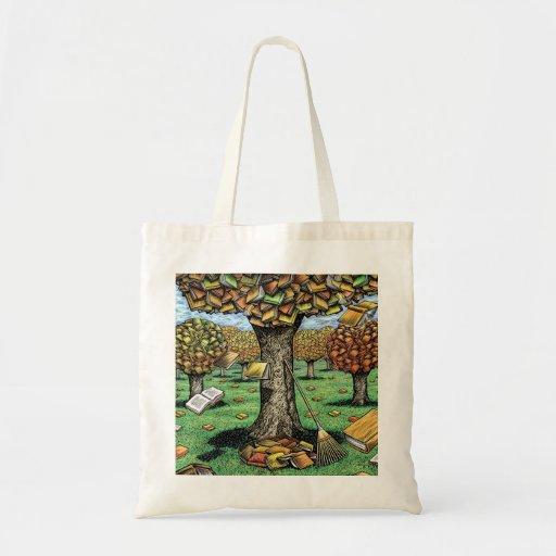 Autumn Books Tote Bag