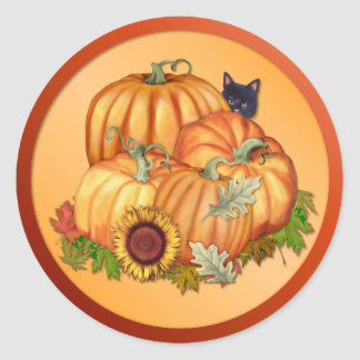 Autumn Bounty Sticker
