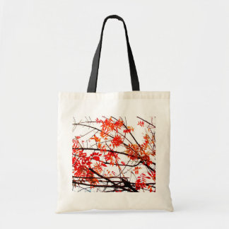 Autumn Branch Abstract Tote Bags