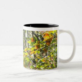 Autumn branch mug