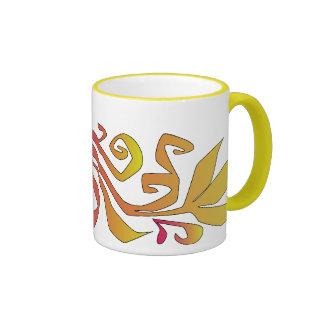 autumn branch ringer mug