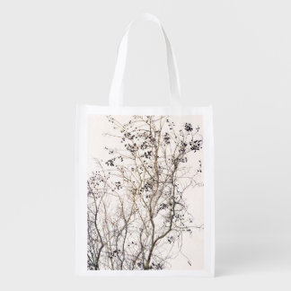 Autumn Branches Grocery Bags