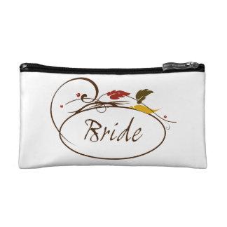Autumn Bride Cosmetics Bags