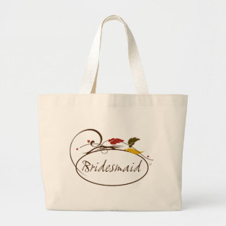 Autumn Bridesmaid Tote Bag
