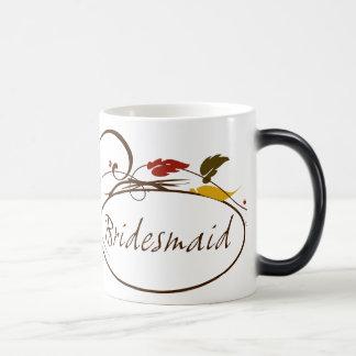 Autumn Bridesmaid Magic Mug
