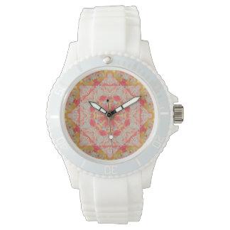 Autumn Brilliance Mandala (weave pattern) Watch