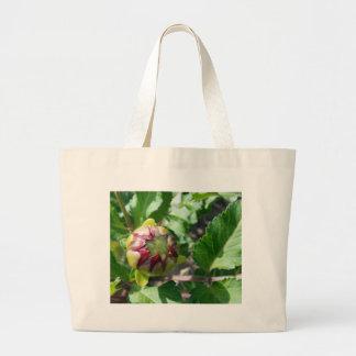 autumn bud large tote bag