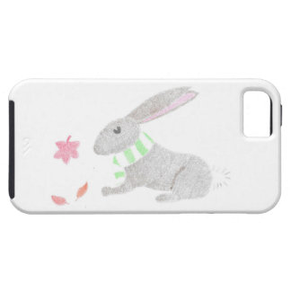 Autumn Bunny Tough iPhone 5 Case