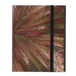 Autumn Burst Fractal iPad Cover