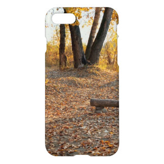 Autumn by the River iPhone 7 Case