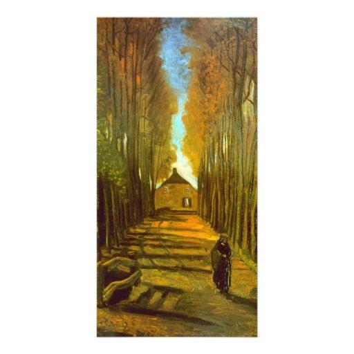 Autumn by Vincent van Gogh Photo Card