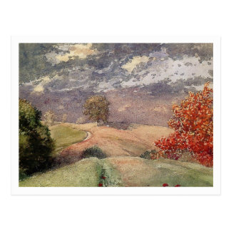 Autumn by Winslow Homer Postcard