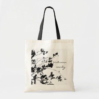 Autumn candy budget tote bag