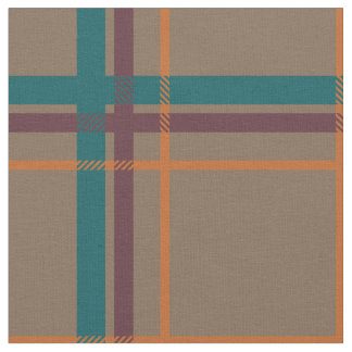 Autumn Chic Plaid Fabric