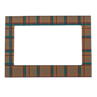 Autumn Chic Plaid Magnetic Frame