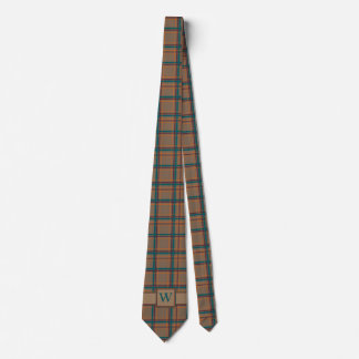 Autumn Chic Plaid Tie