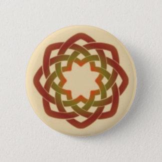 Autumn Circle 6 Cm Round Badge