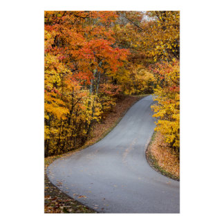 Autumn Color At Brown County State Park Poster