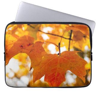 Autumn Color Maple Leaf Laptop Computer Sleeve