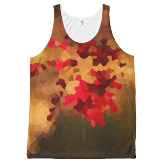Autumn Colors All-Over Print Singlet