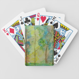 Autumn Colors Bicycle Playing Cards