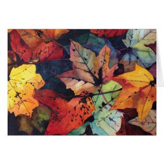 Autumn Colors Card
