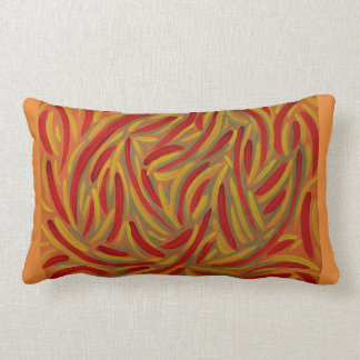 Autumn colors design pillow