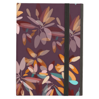 Autumn colors foliage print iPad air cover