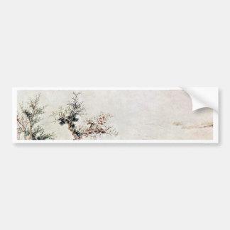 Autumn Colors In Hsun-Yang By Lu Chih (Best Qualit Bumper Sticker