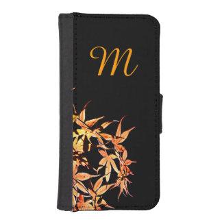 Autumn Colors Japanese Maples Monogram Wallet Case