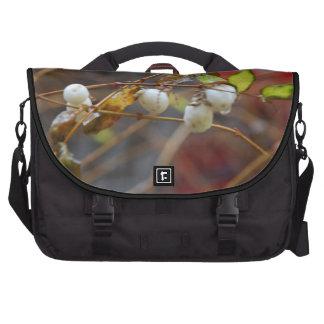autumn colors laptop messenger bag