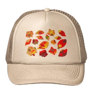 Autumn Colors Leaf Pattern Hat