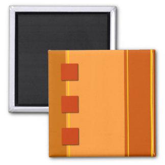 Autumn Colors Square Magnet