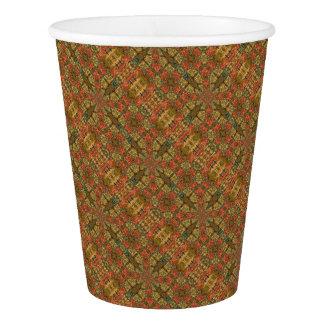 Autumn Colors Mandala Paper Cup